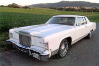 Lincoln Town Cupe, r.v. 1979